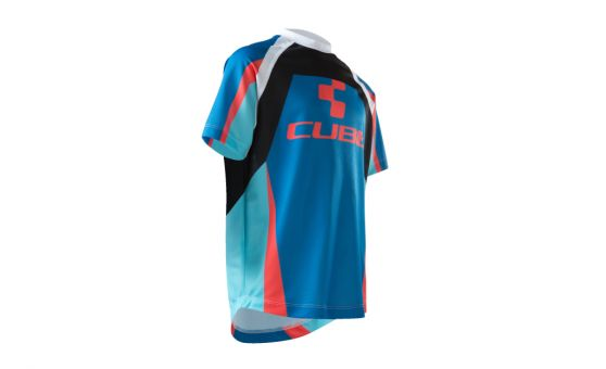 CUBE JUNIOR ACTION TEAM MAGLIA GIROCOLLO M/CORTA