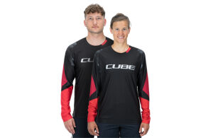 CUBE EDGE ROUND KECK JERSEY L/S